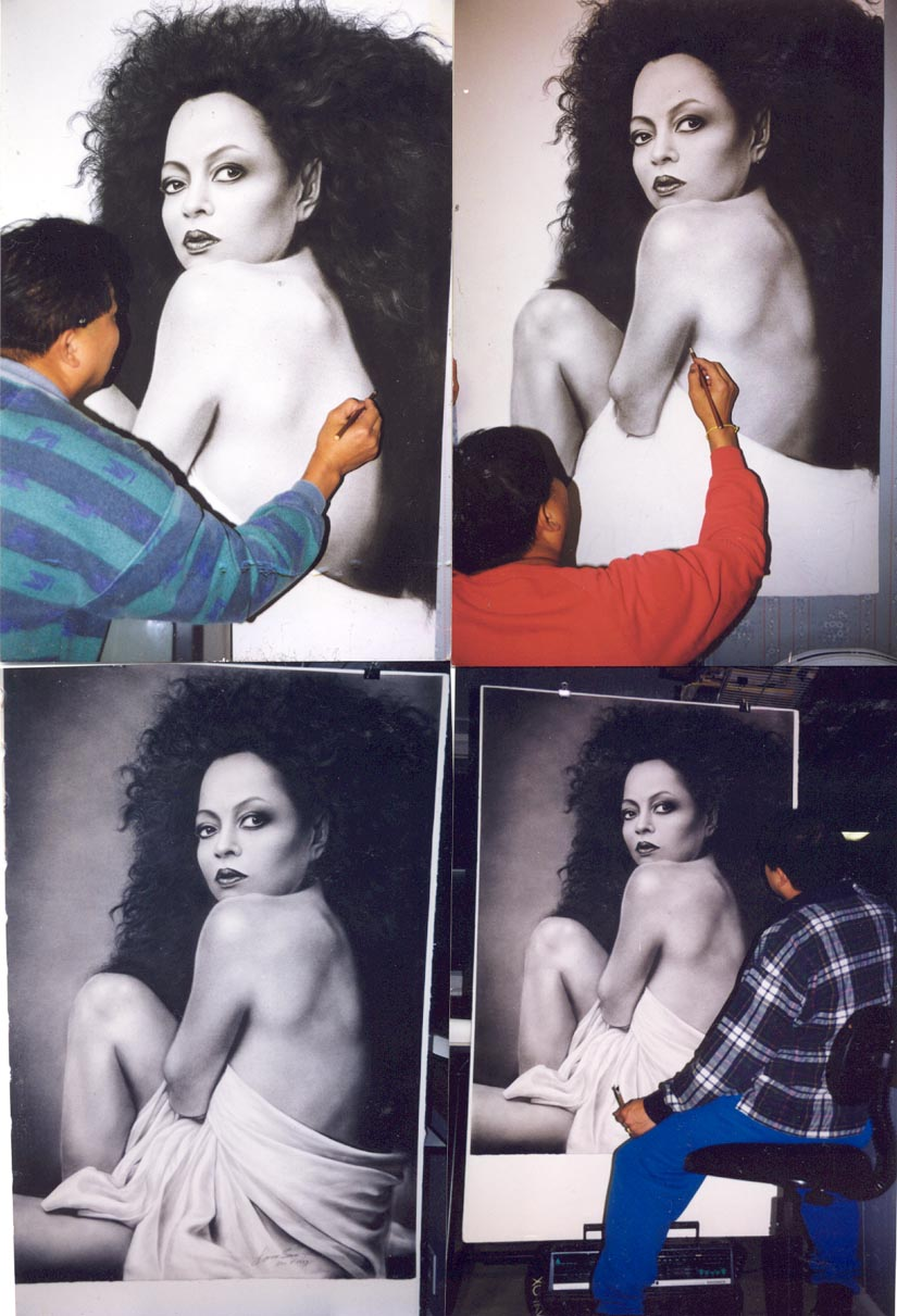 4 pictures of Diana Ross